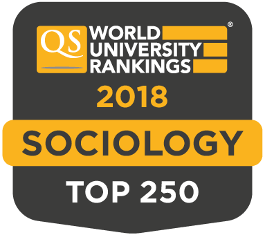 QS World Rankings by Subject 2018 | Sociology | Top 250