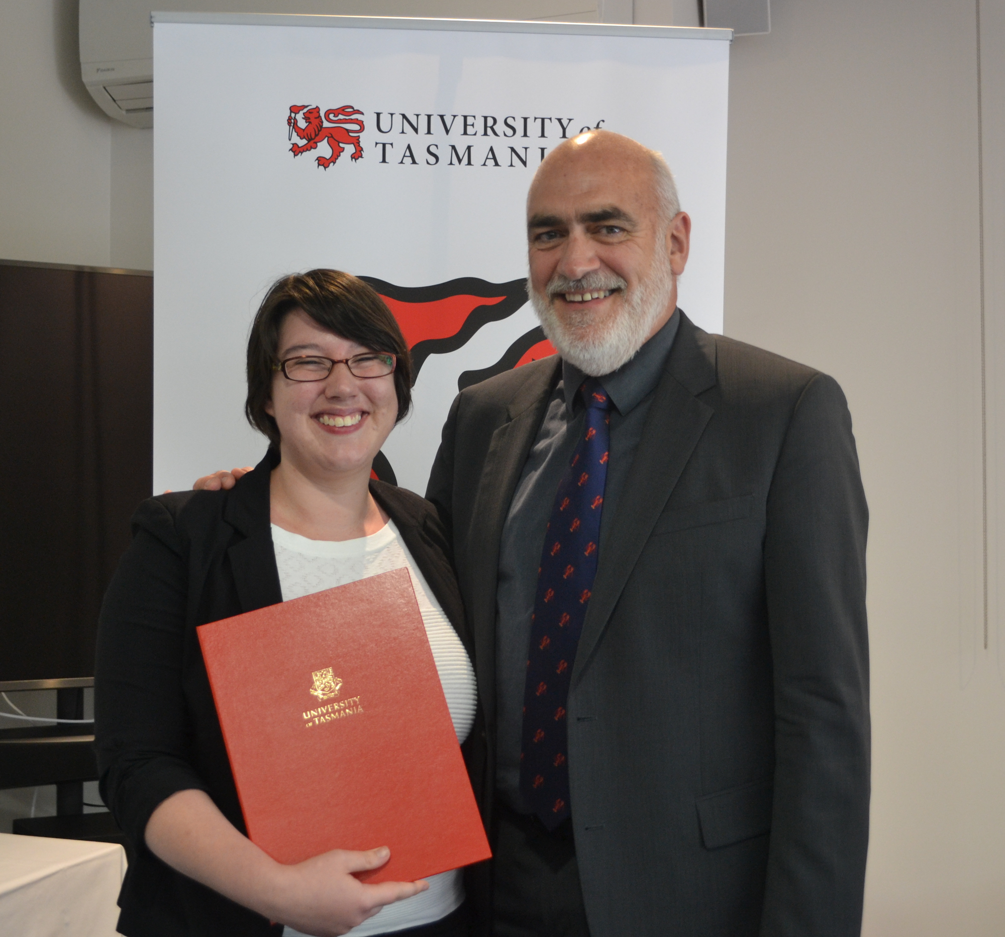 Scholarship puts University of Tasmania law graduate on a path to The Hague