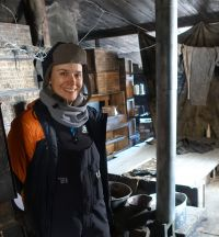 Assoc. Prof. Leane returned from Antarctica_Discovery Hut Image