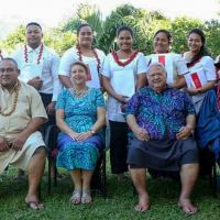 Samoan Parliamentary staff celebrate University of Tasmania qualification