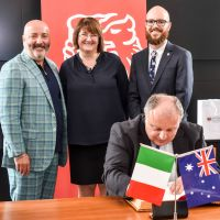 Consul General of Italy visits University of Tasmania