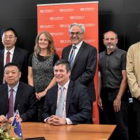 Chinese partner visits Centre for Ore Deposit and Earth Sciences