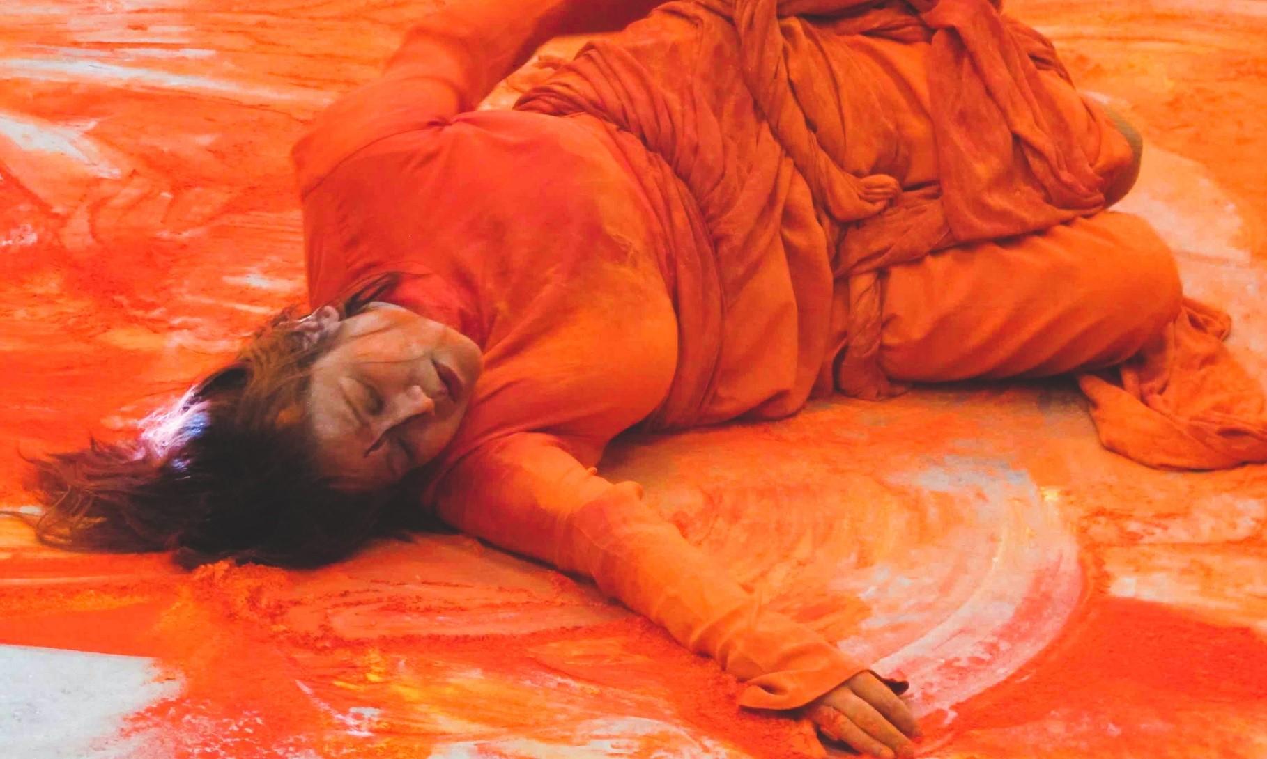 Dina Bangdel, Performance still, USA