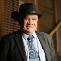 Photo of Mick Dodson AM