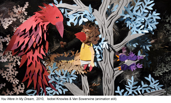 Isobel Knowles & Van Sowerwine, You Were in My Dream, 2010 (animation still)