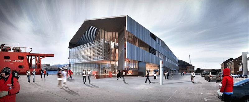 Artist impression of IMAS building