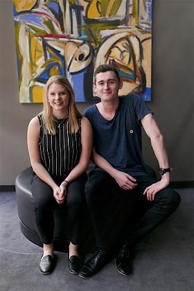 Matthew Etherington and Olivia Fleming