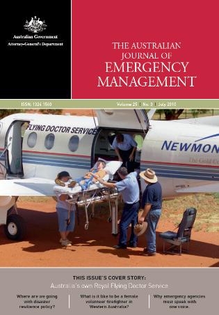 The Australian Journal of Emergency Management