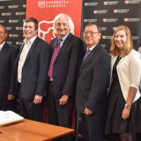 Shandong University of Science and Technology visits the University of Tasmania