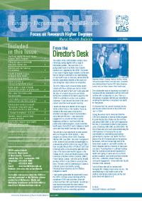 CRH Bulletin June 2004