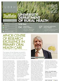 UDRH Bulletin Nov/Dec 2012