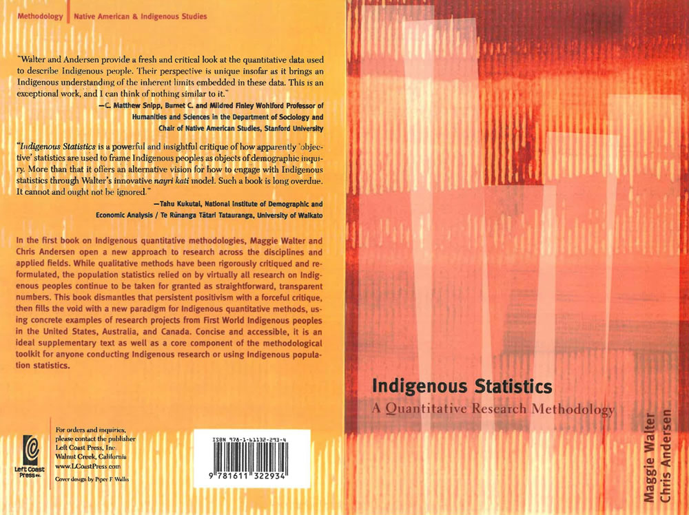 Indigenous Statistics cover