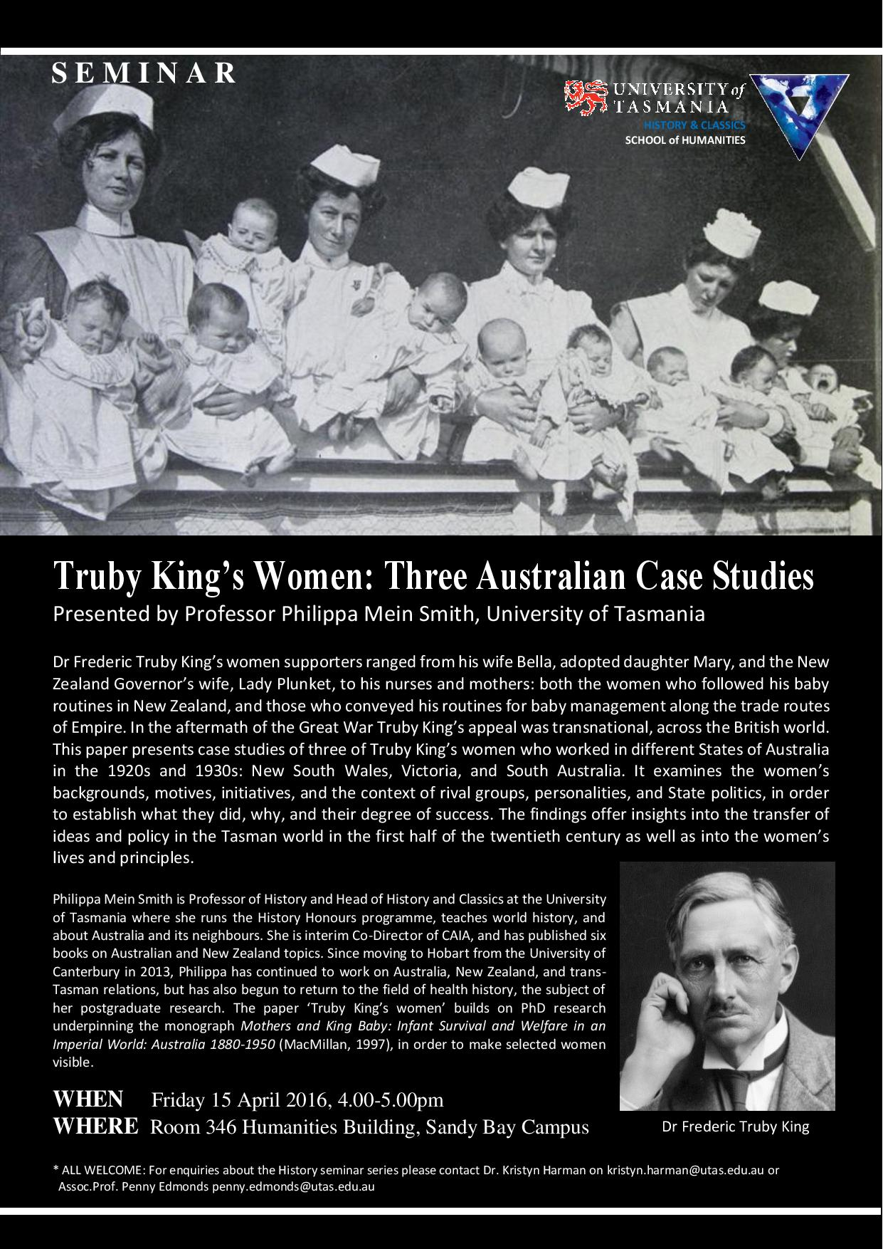 Truby King's Women