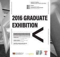 2016 Graduate Exhibition