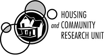 Housing and Community Research Group (HACRU) logo
