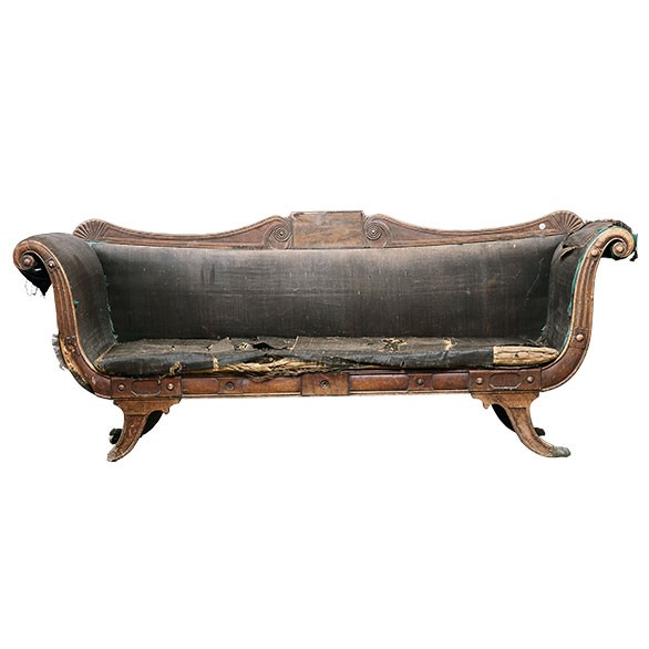Hamilton Inn Sofa courtesy of the Tasmanian Museum and Art Gallery