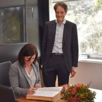 University of Tasmania receives Australian Ambassador to Denmark