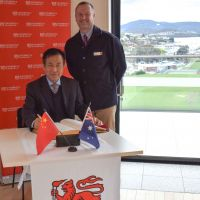 Northeastern University delegates travel to Tasmania