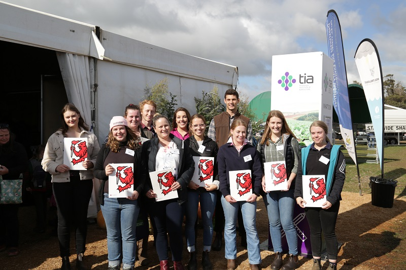 2019 Scholarship Students at Agfest