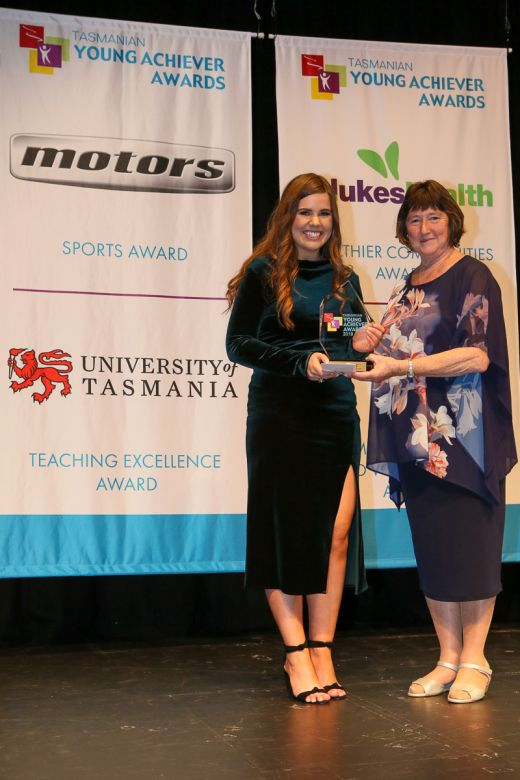 Grace Birchall Wins at Youth Awards