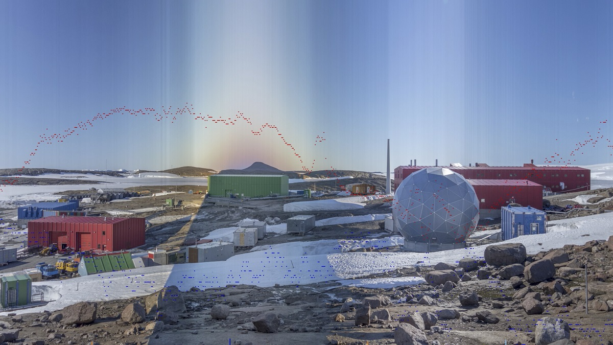 Stills from Terra-Antarctica_Time-panorama_Mawson_Station_60_days_20171208-20180205 2018 HD 1080/25P Video Duration 1 hour 07 minutes 48 seconds