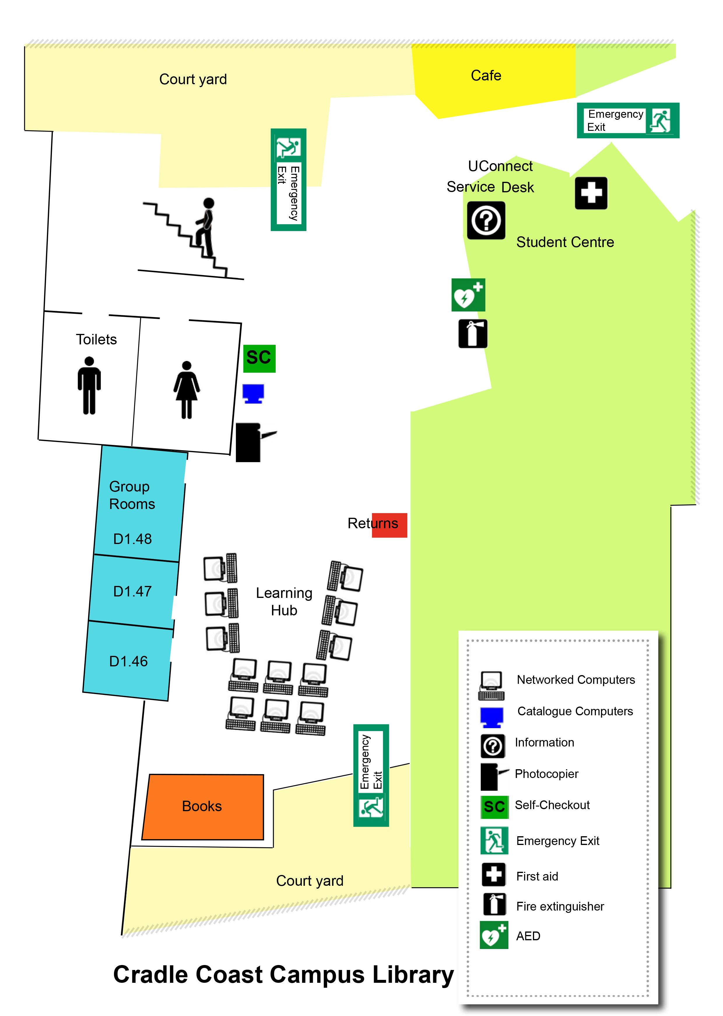 Cradle Coast Campus Library