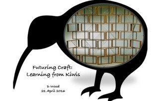 D Wood - Futuring Craft: Learning from Kiwis