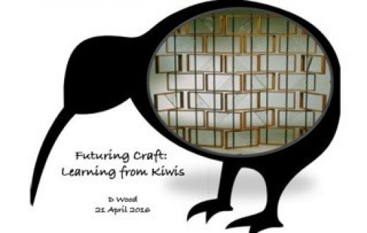 TCotA Forum (Inveresk) - D Wood | Futuring Craft: Learning from Kiwis