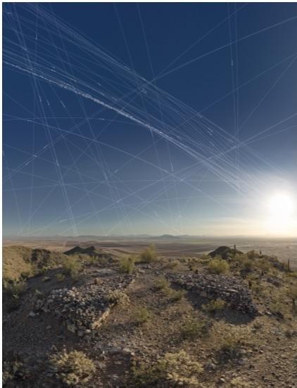 Julie Anand and Damon Sauer, Ground Truth—Corona Landmarks, Mark AG-49