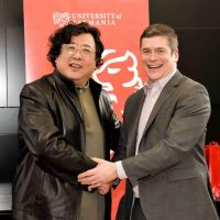 Chinese partners hosted at the University of Tasmania