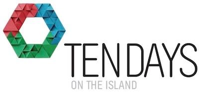 Ten Days on the Island logo