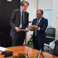 Vice-Chancellor welcomes High Commissioner of Bangladesh