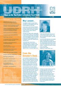 CRH Bulletin April 2005