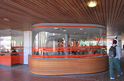 View of the Launceston Campus Library building