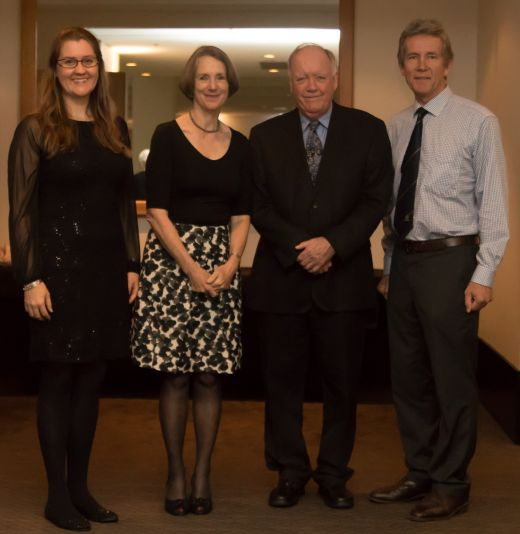 Alumni receive national award for lifetime achievements in criminology
