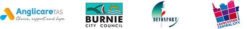 Anglicare Tasmania, Burnie City Council, Devonport City Council, Launceston Central City