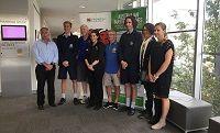 University of Tasmania community volunteer program launched ahead of Australian Masters Games