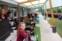 Architecture and Design students create new 'Home Base' for Riverside Primary School