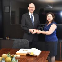 Ambassador of Finland to Australia, New Zealand and the Pacific Islands visits the University