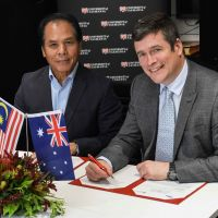 University of Tasmania receives Malaysian Vice-Chancellor