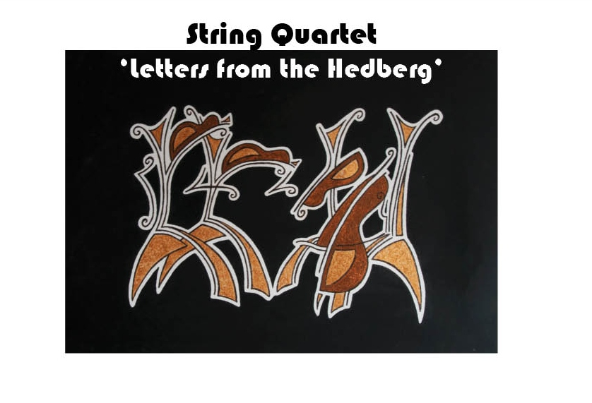 abstract of string quartet