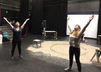 Zoomed rehearsals produce Australian premiere Fishskin Trousers