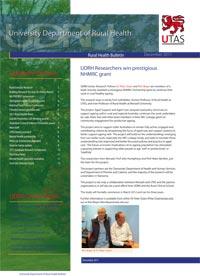 CRH Bulletin December 2011