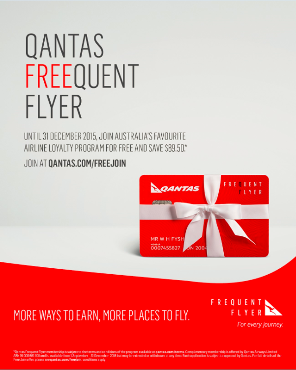 free qantas frequent flyer membership for universitytravellers