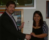 Inaugural Peter W Smith CSL Postgraduate Prize awarded to Lavenia Ratnarajah