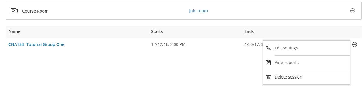 The room is now available to enter. You can edit the room from here