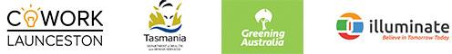 CoWork Launceston, Tasmanian Government, Greening Australia, illuminate
