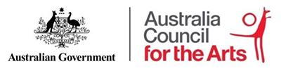Australian Government - Australia Council for the Arts logo