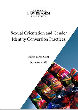Conversion Practices Issues Paper cover