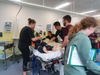 Simulation workshop puts LCS students to the test